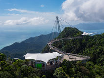 Skybridge di Langkawi Immagine Stock