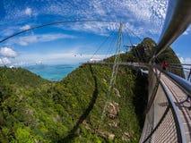Skybridge di Langkawi Fotografia Stock