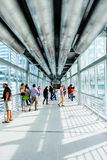 Skybridge of Petronas Towers Royalty Free Stock Images