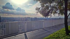 Skybridge view Royalty Free Stock Image