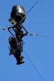 Skycam照相机系统 库存图片
