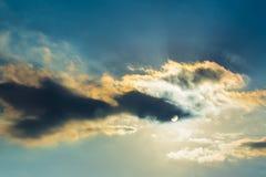 Skycap drammatico Fotografie Stock Libere da Diritti