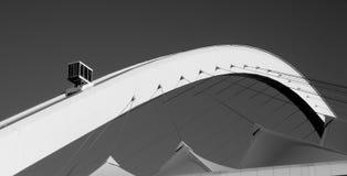Skycar στο στάδιο του Μωυσή Mabhida στο Ντάρμπαν, Νότια Αφρική Στοκ Φωτογραφία