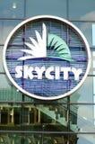 Skycity奥克兰 免版税图库摄影