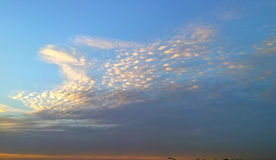 Skycloud. Bluesky cloudy Stock Image