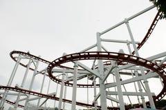 Skycoaster-Schiene lizenzfreie stockbilder