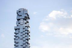 Skycraper在纽约 免版税库存照片