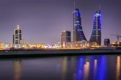Skycraper au Bahrain Images libres de droits