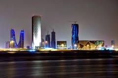 Skycraper au Bahrain Photos libres de droits