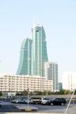 Skycraper in Bahrain Immagini Stock