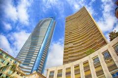 Skycraper a Monte Carlo Fotografie Stock