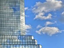 Skycraper si apanna le riflessioni Fotografia Stock Libera da Diritti