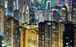 Skycrapers de Hong Kong Fotografía de archivo libre de regalías