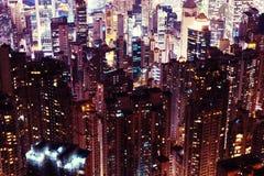 Skycrapers de Hong Kong Fotos de archivo