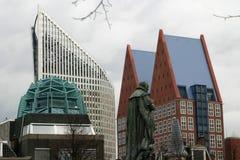 Skycrapers (los ministerios) en La Haya Fotografía de archivo