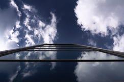 Skycrapers modernos da arquitetura de negócio Foto de Stock