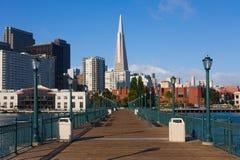 Skycrapers in San Francisco Stock Images