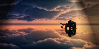 Skydancer stock photo