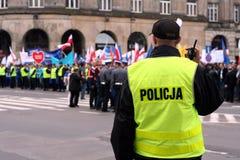 skydd för 2 demonstration royaltyfria foton