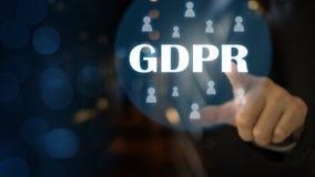 Skydd för allmänna data för GDPR fotografering för bildbyråer
