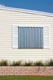 skydd för orkan panels3 Fotografering för Bildbyråer