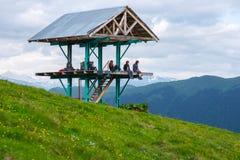 Skydd i bergen Royaltyfri Fotografi