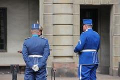 skydd kunglig person Royaltyfria Foton