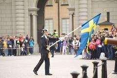 skydd kungliga sweden Arkivfoton
