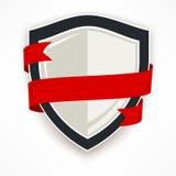 Skydda med bandet royaltyfri illustrationer