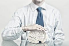 Skydda mentala hälsor Arkivbild