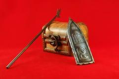 skyddad kista Royaltyfria Foton