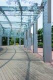Skyddad Walkway royaltyfri bild