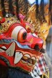 Skyddande ande och Bali ösymbol - Barong Arkivbilder