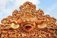 Skyddande ande och Bali ösymbol - Barong Royaltyfria Bilder