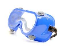 skyddande goggles fotografering för bildbyråer