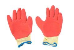 skyddande handskar Royaltyfri Bild