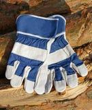 Skyddande handskar Royaltyfria Bilder