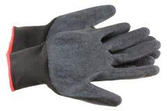 Skyddande handskar för män Royaltyfri Fotografi