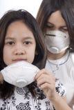 skyddande maskering Royaltyfria Foton