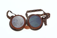 Skyddande skyddsglasögon för welders Arkivfoton