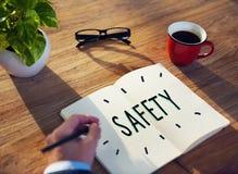 Skyddat begrepp för säkerhetsdataskydd säkerhet royaltyfri bild