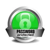 skyddat lösenord Royaltyfri Foto