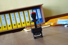 skyddsremsa för 2 kontor Royaltyfria Foton