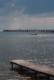 Skyddsremsa i Östersjön royaltyfri fotografi