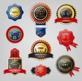 Skyddsremsa- och utmärkelsesamling Fotografering för Bildbyråer