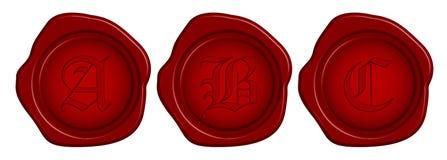 skyddsremsawax royaltyfri illustrationer