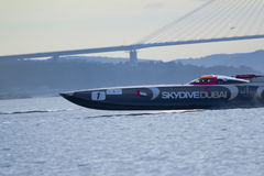 SkyDive Ντουμπάι, σουηδικά Grand Prix 2010 Στοκ Φωτογραφία