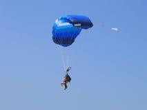 skydive тандем Стоковое Изображение
