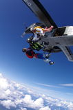 Skydive 1 Fotografia de Stock Royalty Free