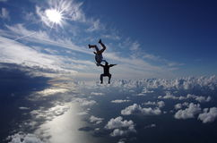 Skydive 3 Stockfotografie